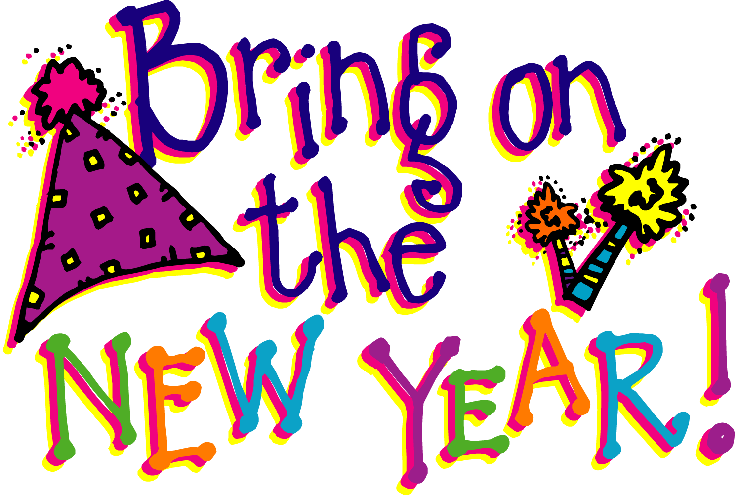 Happy new year clipart 6 mybloggingdiary