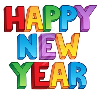 Happy new year clipart 8 hadad