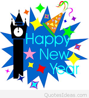Happy new year clipart new year