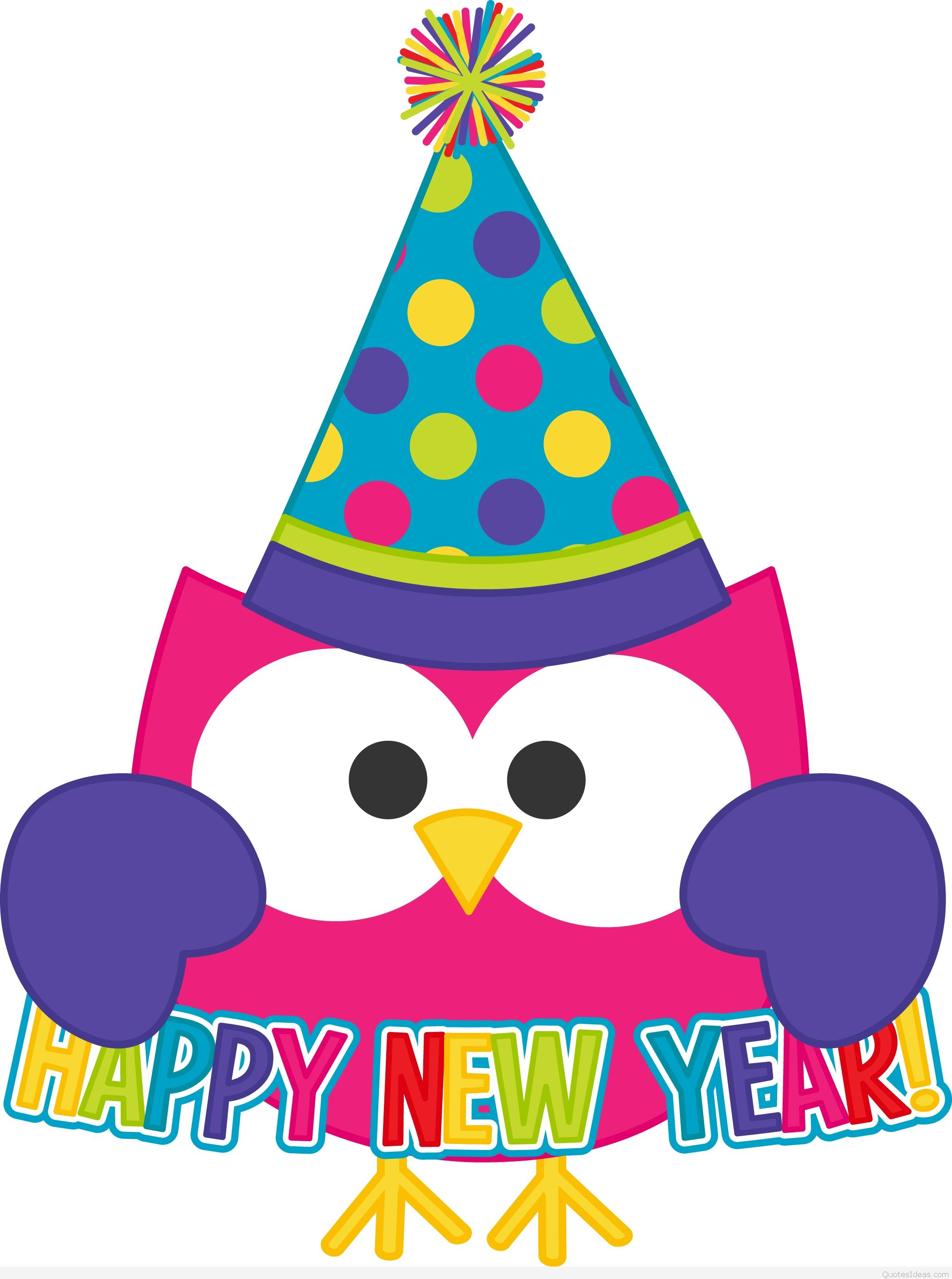 Happy new year free clip art wallpapers