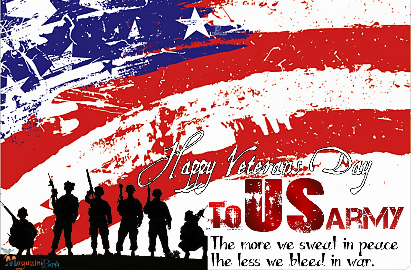 Happy veterans day clip art wallpaper