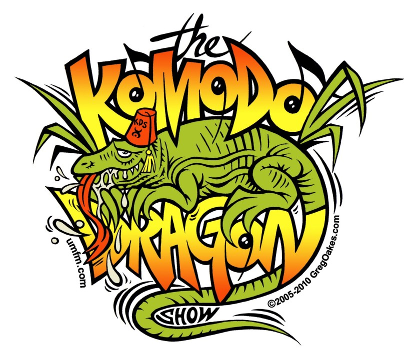 Komodo dragon clipart 2