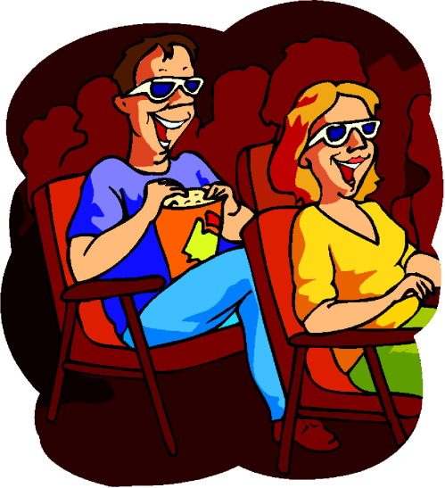 Movie cinema clipart clipartix