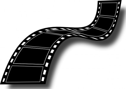 Movie film strip clip art free vector in open office drawing svg svg