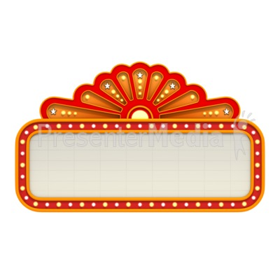 Movie hollywood spotlight border clipart clipart kid