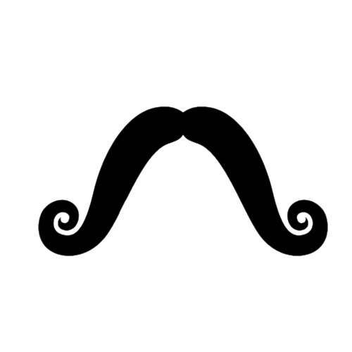Mustache clip art with clear background further cartoon mustache
