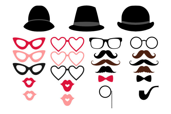 Mustache moustache clip art photos graphics fonts themes templates