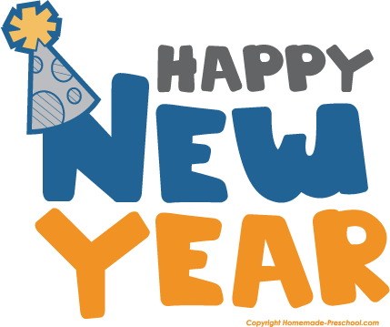 New year 6 clip art designs happy new year clip art images