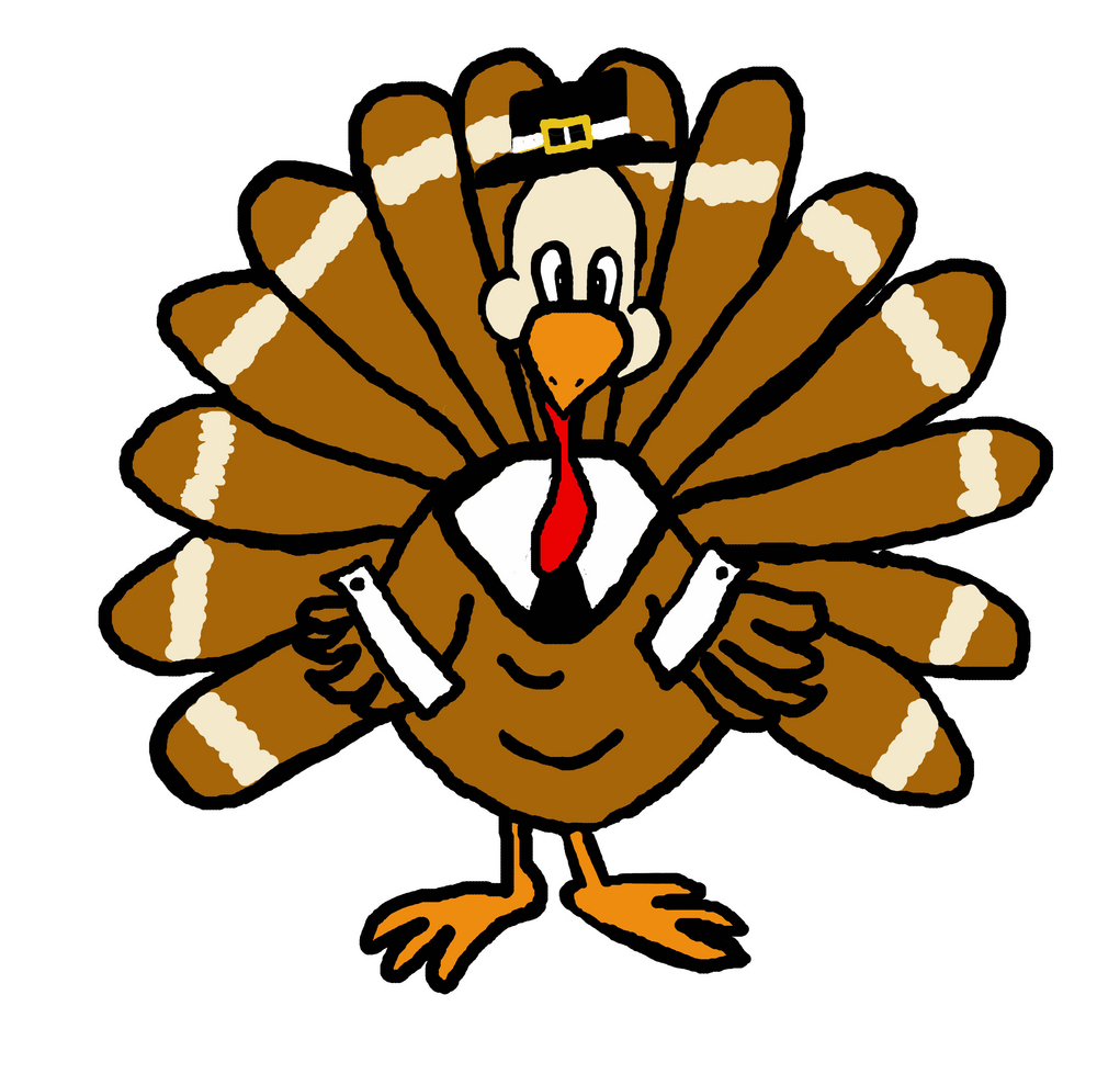 November turkey clip art