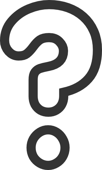 Red question mark clipart free clipart images