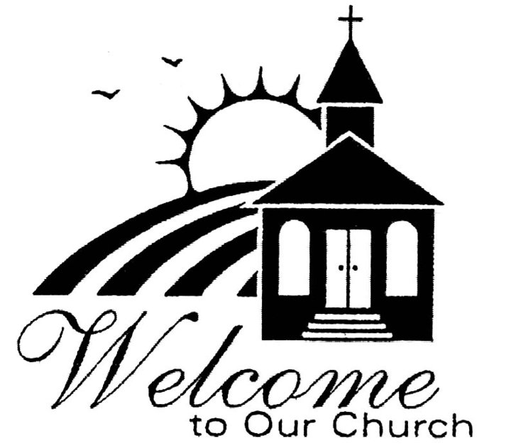 Religious welcome clipart