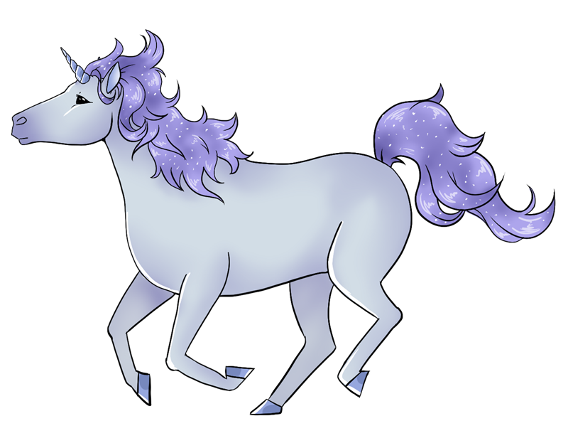 Unicorn free to use clipart