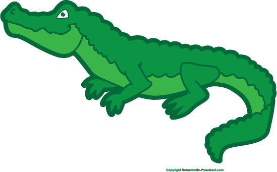 Alligator clipart 2