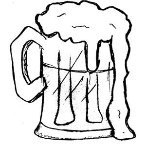 Beer clip art 2 clipartix