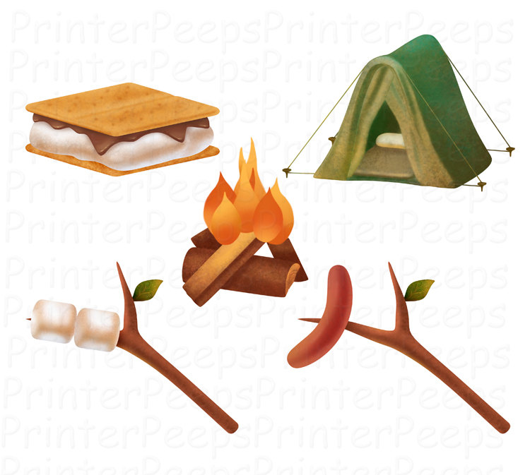 Camping images free clipart