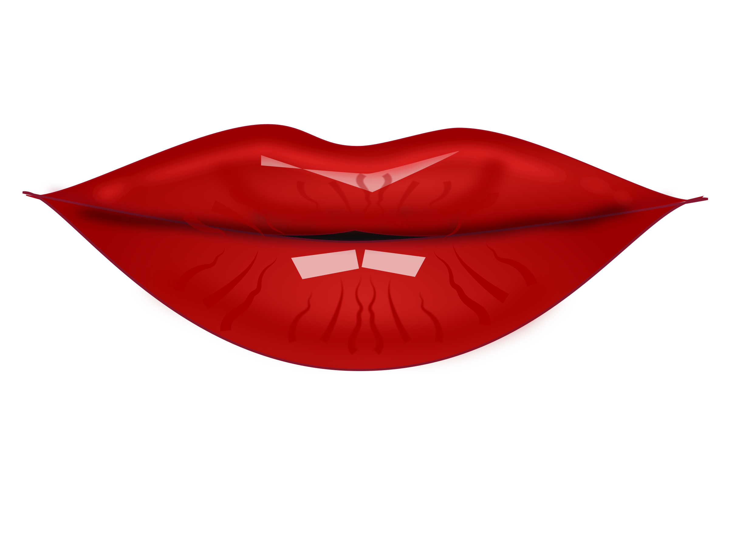 Clipart lips by netalloy