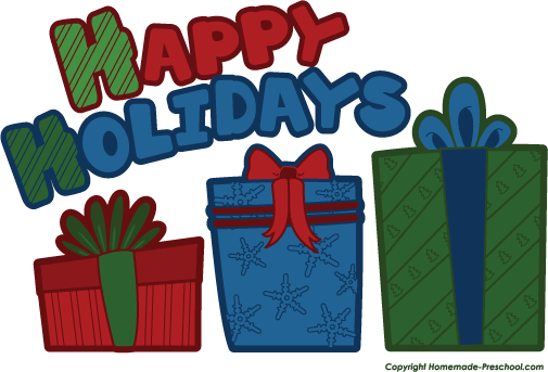 Free happy holidays clipart the cliparts 9