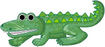 Funny alligator clip art crocodile pictures crocodile clip art 3