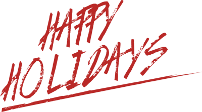 Happy Holidays Free Clip Art 2
