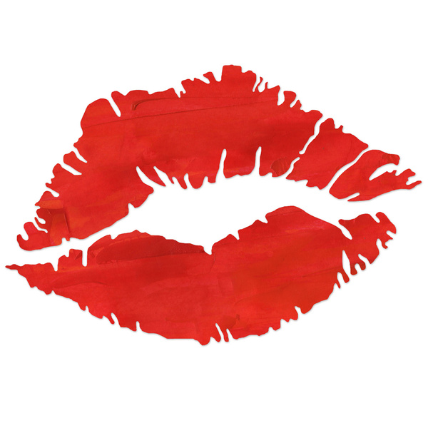 Lips on fire clipart