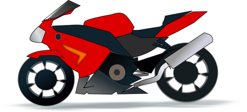 Motorcycle free to use cliparts