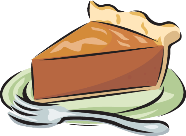 Pie great clip art of desserts