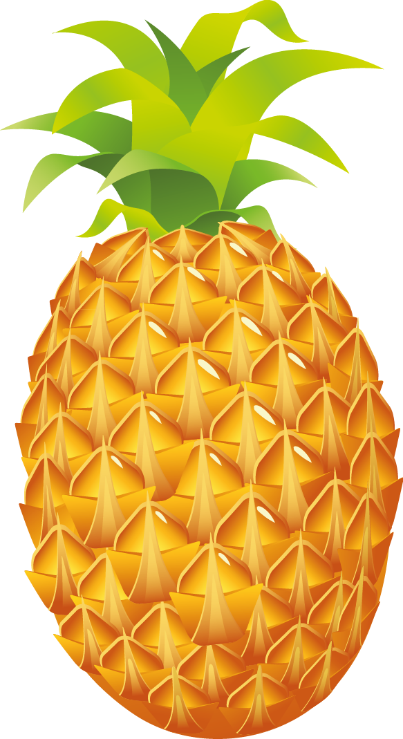 Pineapple free to use clipart