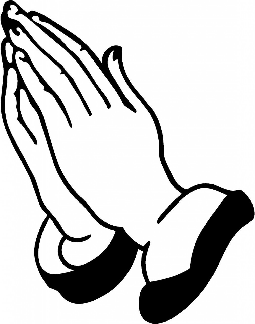 Praying hands prayer hands clipart free clipart images