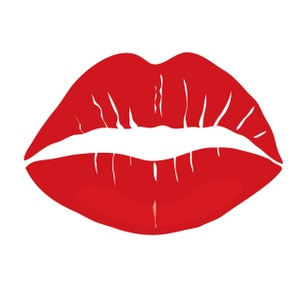 Red lips clipart clipart 4