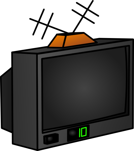 Tv clipart the cliparts 4