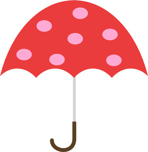 Umbrella clip art black and white umbrella free feebase net