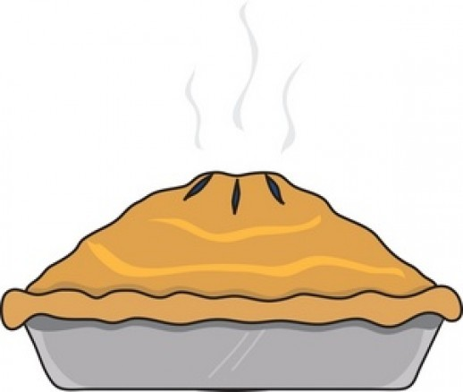 Whole pie free clipart