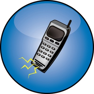 Cell phone clipart image cell phone