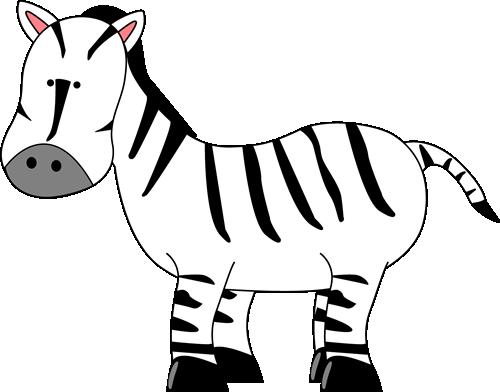 Cute zebra clipart clipart kid 2