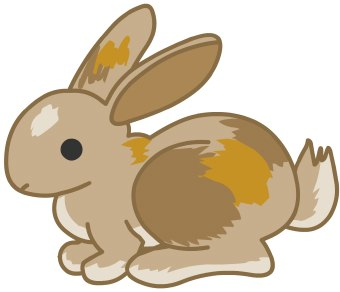 Free rabbits clipart free clipart graphics images and photos 2 2