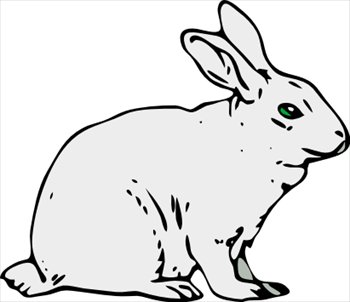 Free rabbits clipart free clipart graphics images and photos