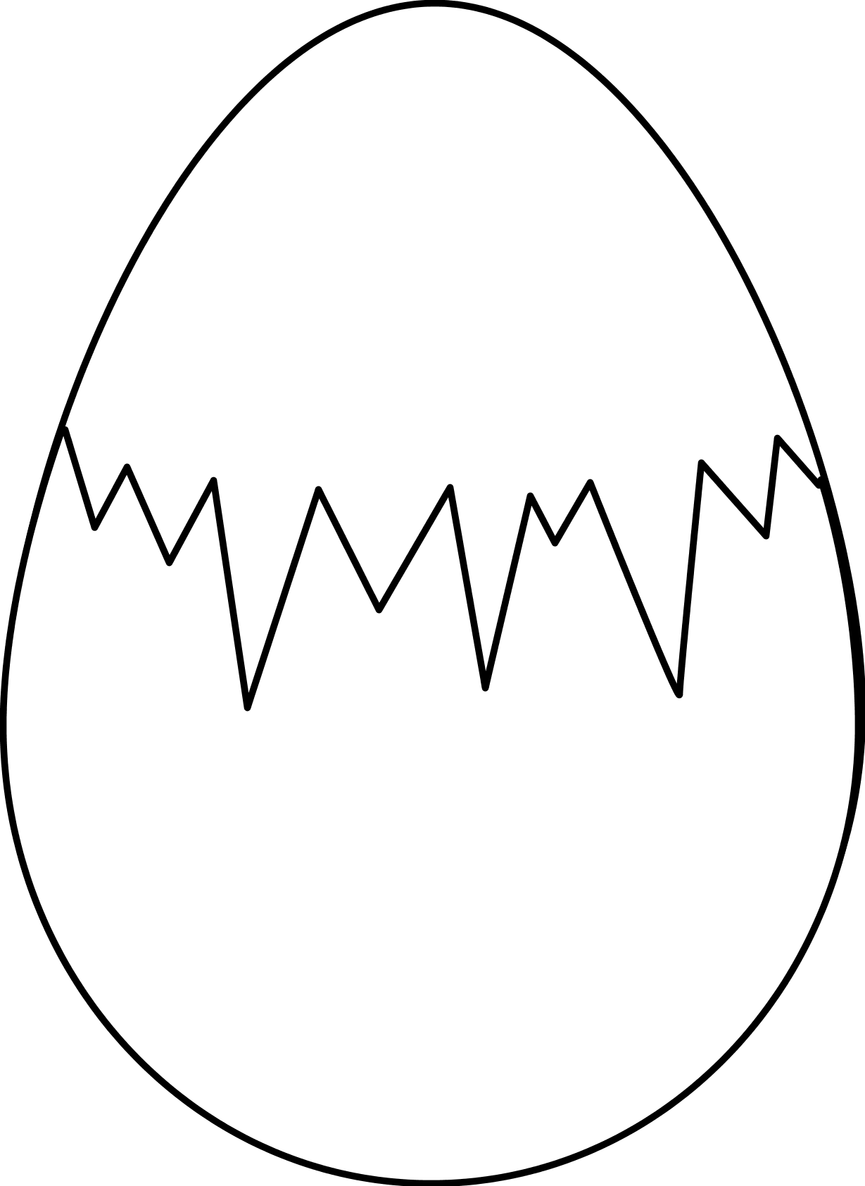 Fried egg clipart black and white free clipart