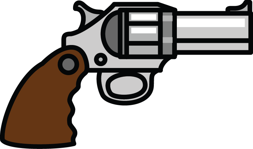 Gun free to use cliparts