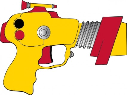 Laser ray gun clip art free vector in open office drawing svg