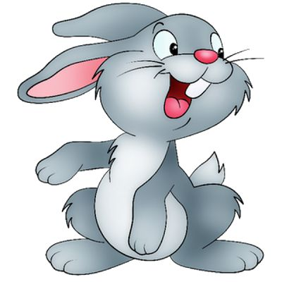 Moving bunny clip art cartoon bunny rabbits clip art images 4