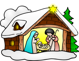 Religious december clipart
