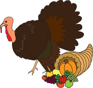 Thanksgiving turkey clip art notlored free 3