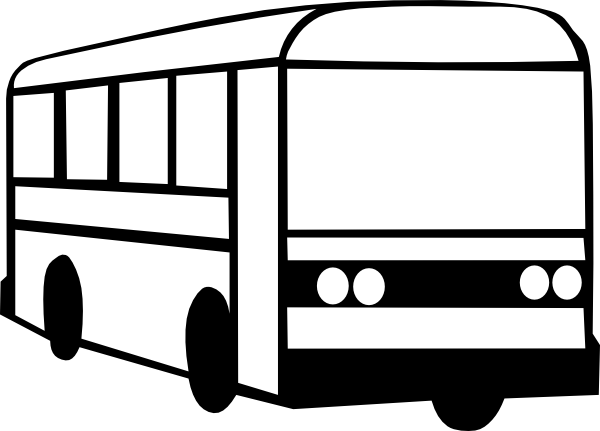 Church bus free clipart kid 2