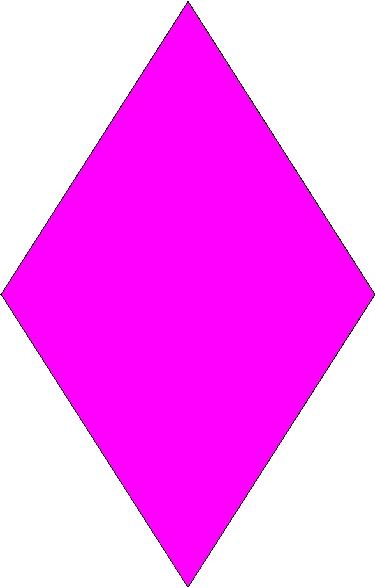 Diamond shape clipart the cliparts 2