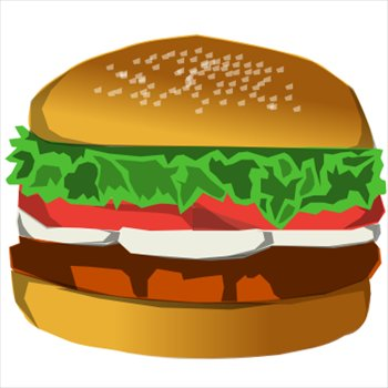 Free hamburgers clipart free clipart graphics images and photos 2
