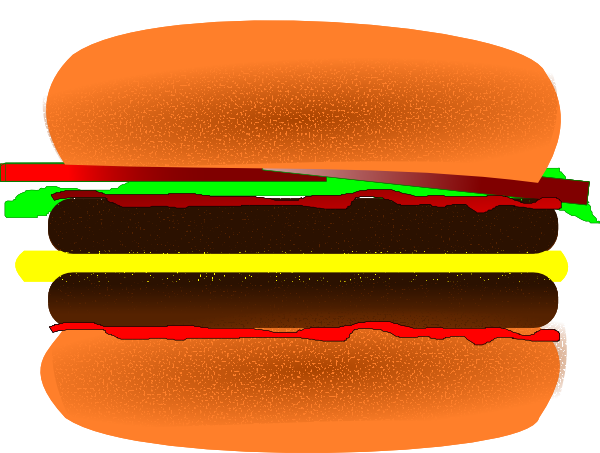 Free hamburgers clipart free clipart graphics images and photos 5