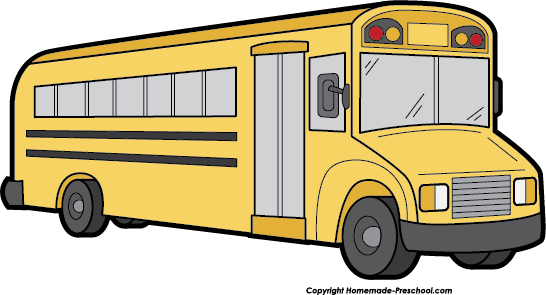 School bus clip art for kids free clipart images 2