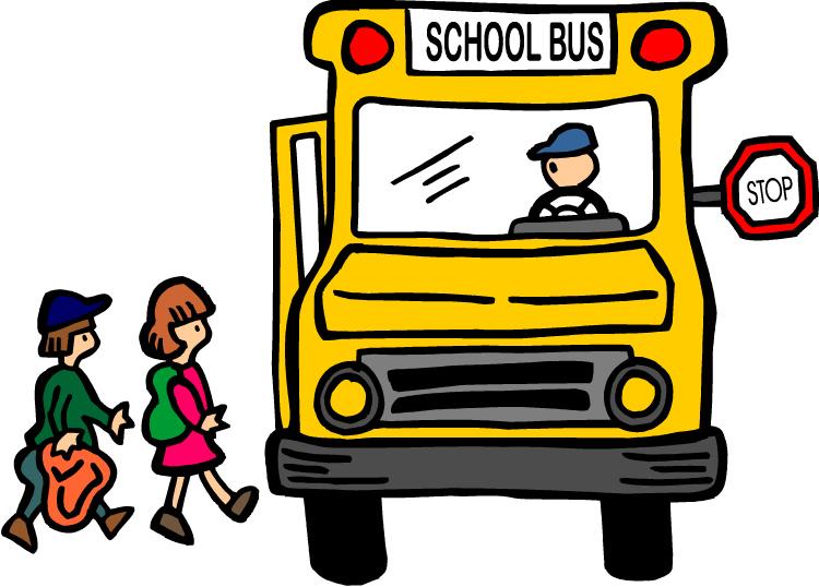 Under the bus clipart kid 2