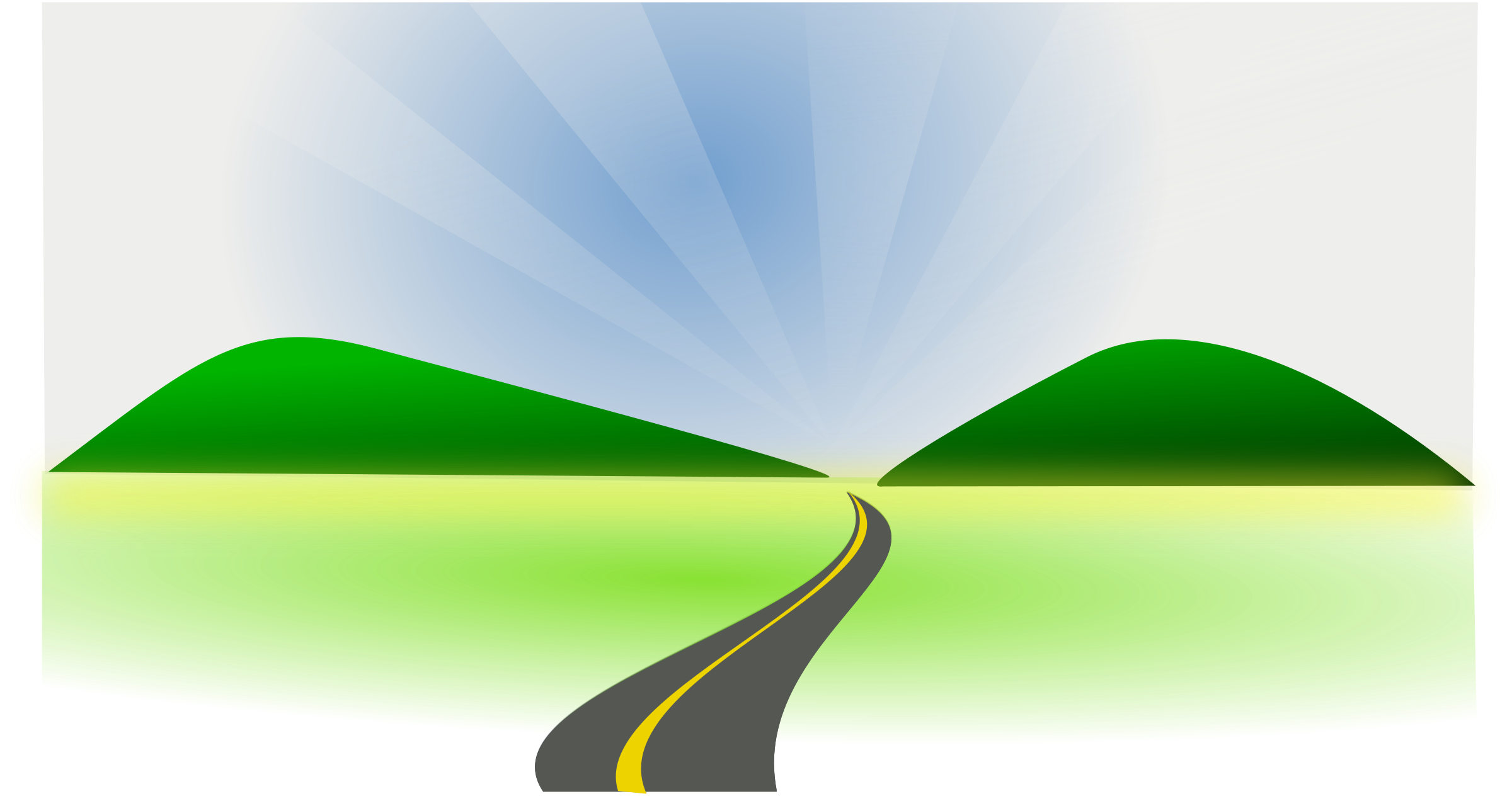Country road clipart kid 2