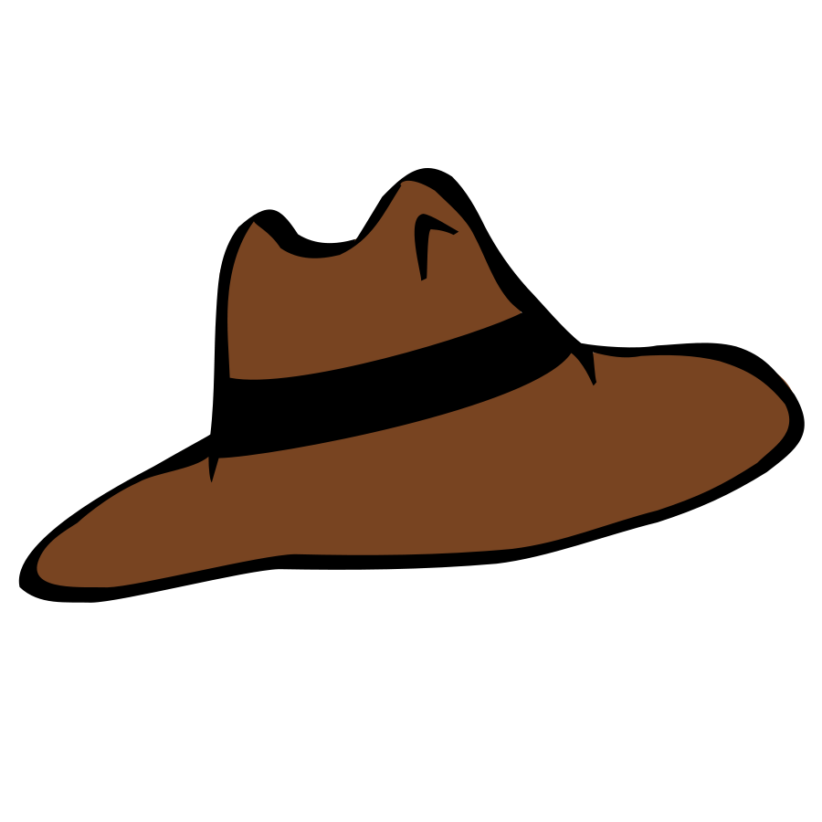 Cowboy hat clip art free vector for download about 6
